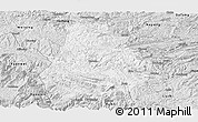 Silver Style Panoramic Map of Shuicheng