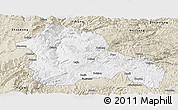Classic Style Panoramic Map of Weining