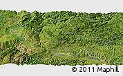 Satellite Panoramic Map of Weining
