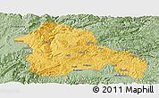 Savanna Style Panoramic Map of Weining