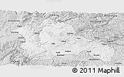 Silver Style Panoramic Map of Weining