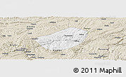 Classic Style Panoramic Map of Xifeng