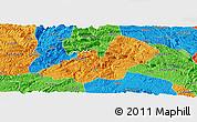 Political Panoramic Map of Xingren