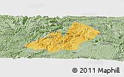 Savanna Style Panoramic Map of Xingren