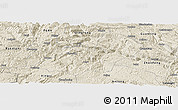 Shaded Relief Panoramic Map of Xingren