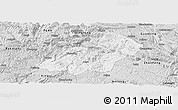 Silver Style Panoramic Map of Xingren