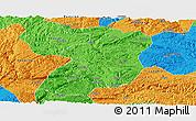 Political Panoramic Map of Xingyi