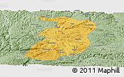 Savanna Style Panoramic Map of Xingyi