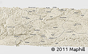 Shaded Relief Panoramic Map of Xingyi