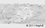 Silver Style Panoramic Map of Xingyi