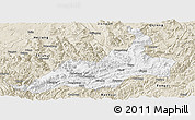 Classic Style Panoramic Map of Xishui