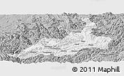 Gray Panoramic Map of Xishui