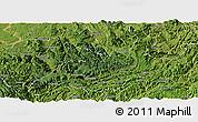Satellite Panoramic Map of Xishui