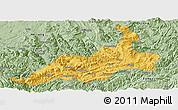 Savanna Style Panoramic Map of Xishui