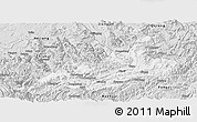 Silver Style Panoramic Map of Xishui