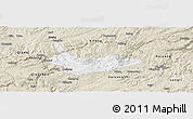 Classic Style Panoramic Map of Xiuwen
