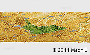 Satellite Panoramic Map of Xiuwen, physical outside