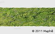 Satellite Panoramic Map of Xiuwen