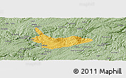 Savanna Style Panoramic Map of Xiuwen