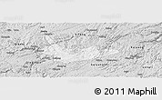 Silver Style Panoramic Map of Xiuwen