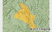 Savanna Style Map of Zhenfeng