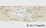 Classic Style Panoramic Map of Zhenfeng