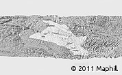 Gray Panoramic Map of Zhenfeng