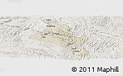 Shaded Relief Panoramic Map of Zhenfeng, lighten