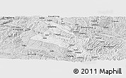Silver Style Panoramic Map of Zhenfeng