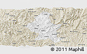 Classic Style Panoramic Map of Zheng An