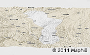 Classic Style Panoramic Map of Zhenning