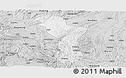 Silver Style Panoramic Map of Zhenning