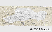 Classic Style Panoramic Map of Zhijin