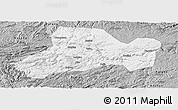Gray Panoramic Map of Zhijin