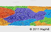 Political Panoramic Map of Zhijin