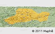 Savanna Style Panoramic Map of Zhijin