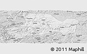 Silver Style Panoramic Map of Zhijin