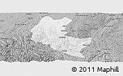 Gray Panoramic Map of Ziyun