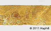 Physical Panoramic Map of Ziyun
