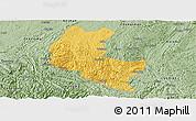 Savanna Style Panoramic Map of Ziyun