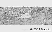 Gray Panoramic Map of Zunyi Shi