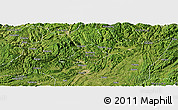 Satellite Panoramic Map of Zunyi Shi