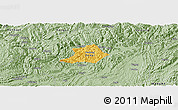 Savanna Style Panoramic Map of Zunyi Shi