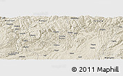 Shaded Relief Panoramic Map of Zunyi Shi