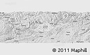 Silver Style Panoramic Map of Zunyi Shi