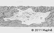 Gray Panoramic Map of Zunyi