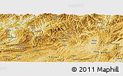 Physical Panoramic Map of Zunyi
