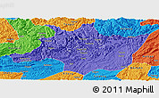 Political Panoramic Map of Zunyi