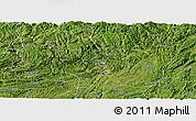 Satellite Panoramic Map of Zunyi
