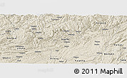Shaded Relief Panoramic Map of Zunyi